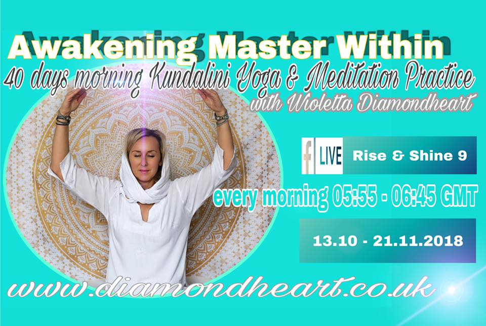 Awakening Master Within 40 Days Yoga Practice - Series 9