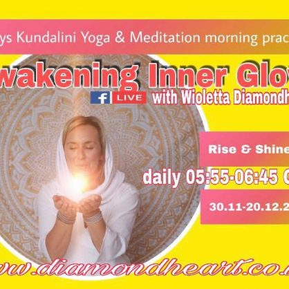 Awakening Inner Glow - 21 days online yoga and meditation