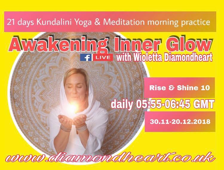 Awakening Inner Glow - 21 days online yoga and meditation