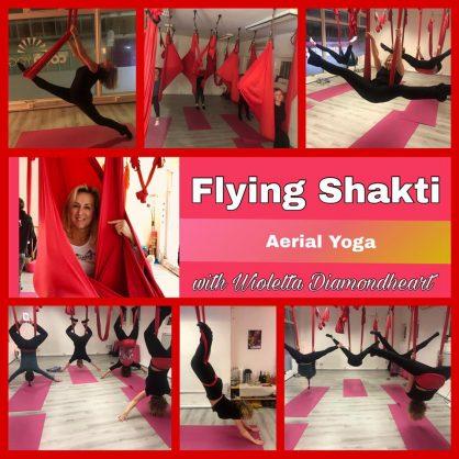Flying Shakti Aerial Yoga with Wioletta Diamondheart