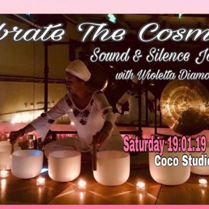 Crystal Alignment with Crystal Singing Bowls 19th of Jan 2019