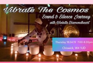 Meditation and Healing with Crystal Singing Bowls 18th of April