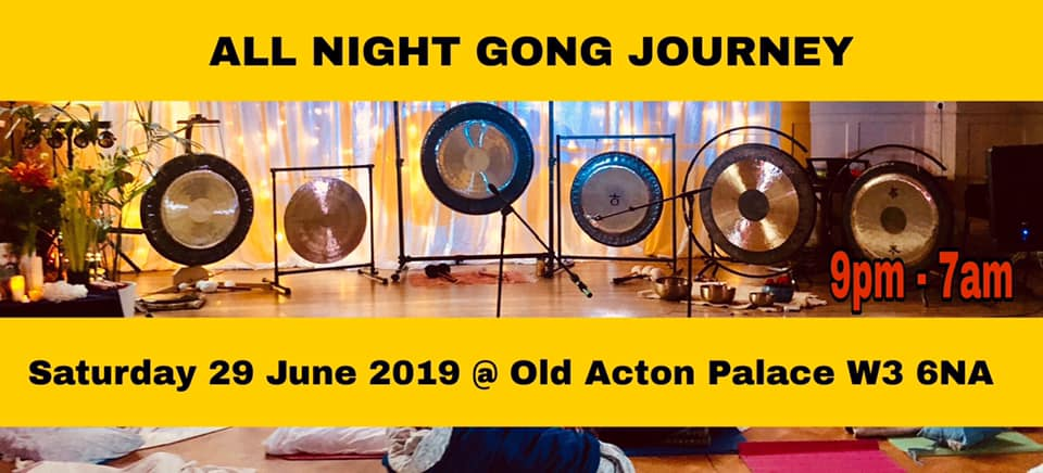 Summer Solstice All Night Gong Journey 29th of Jun