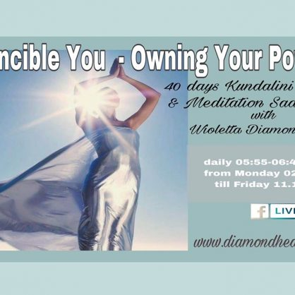 Invincible You - Owning Your Power  40 day Kundalini Yoga and Meditation life on FB