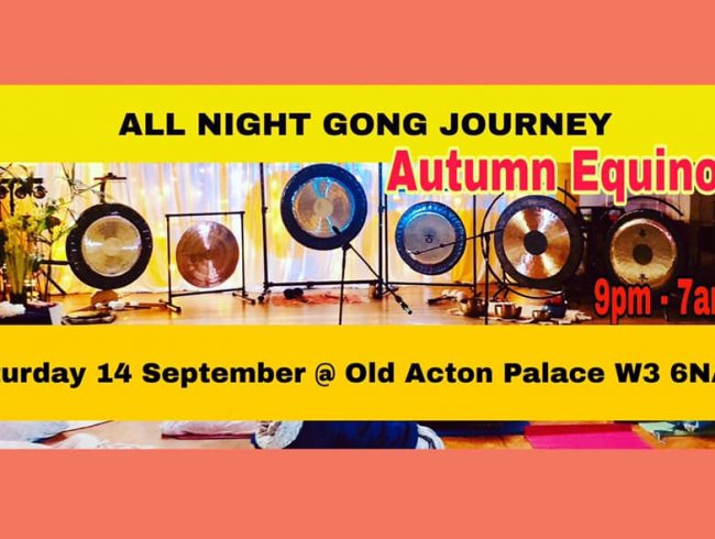 All Night Gong Journey – Autumn Equinox