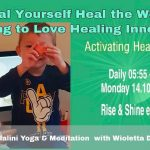 40 days on-line yoga & meditation Activating Heart Chakra