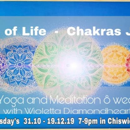 Wheels of Life - 8 Weeks Chakra Journey