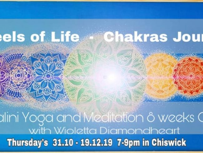 Wheels of Life – 8 Weeks Chakra Journey