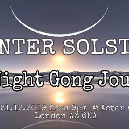 Winter Solstice  All night gong Puja.