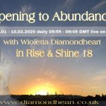 40 days Challenge OPENING TO ABUNDANCE in Rise and Shine 18