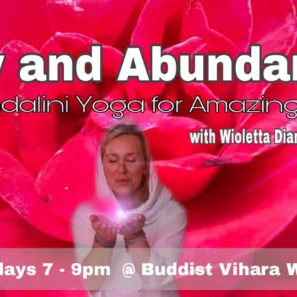 Joy and Abundance - Kundalini Yoga Course for Amazing Life