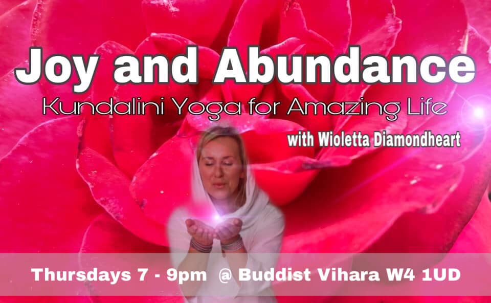 Joy and Abundance - Kundalini Yoga Course for Amazing Life