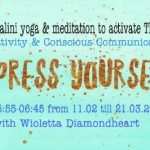 Express Yourself 40 days morning yoga & mediation live on Facebook
