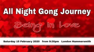 Being in Love – All Night Gong Puja for Valentines