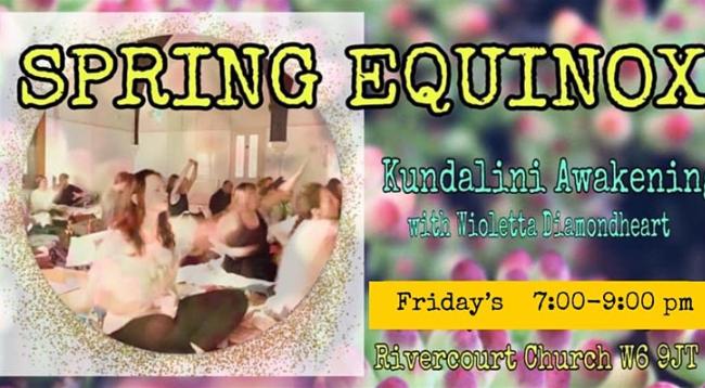 SPRING EQUINOX Kundalini Yoga, Meditation and Gong